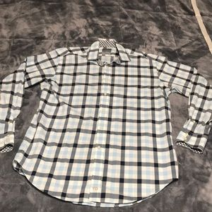 Thomas Dean dress shirt size Large